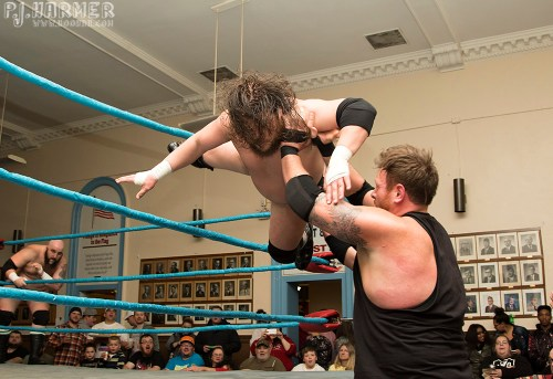 In professional wrestling, sometimes you have to take a leap of faith and trust in the people you are working with.