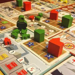 Really enjoyed playing Yokahama boardgames bgg boardgame boardgamegeek boardgamelife tabletophellip