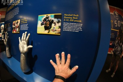 An interactive part of the Hall of Fame.