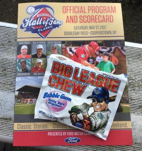 Hall of Fame Classic today Free pouch of Big Leaguehellip