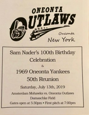 Program for Sam's day