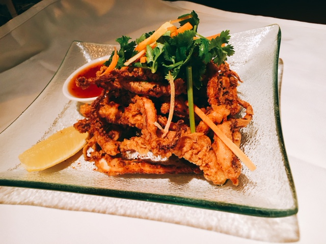 Fried Octopus with Thai Chilli Dip