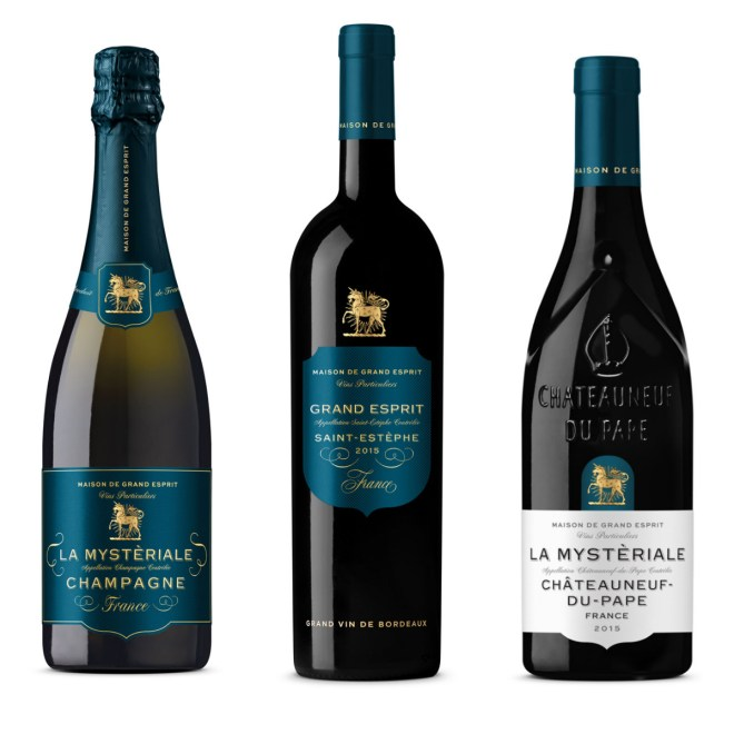 La Mysteriale and L'Etre Magique ranges of wines