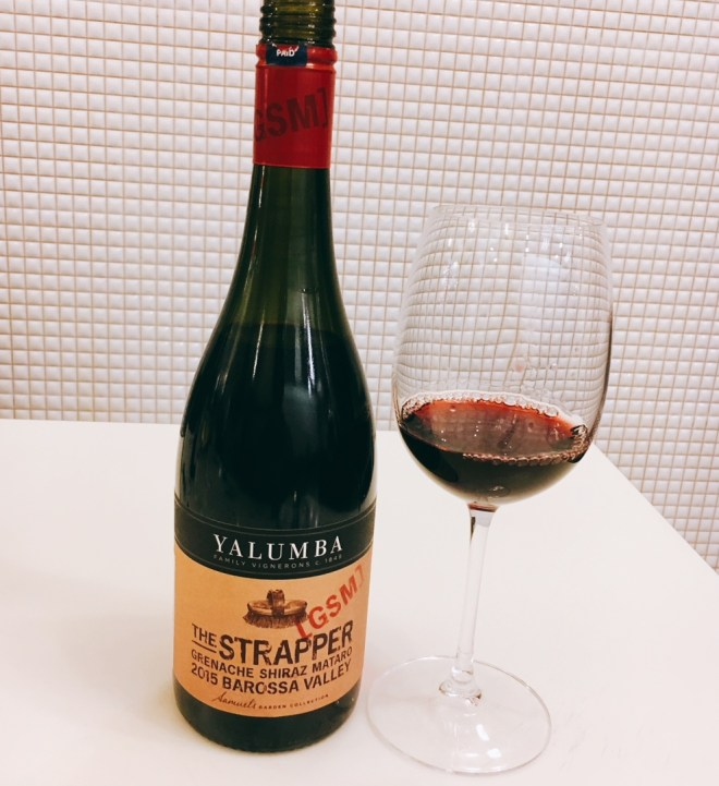 The soft subtle red that's called Yalumba The Strapper