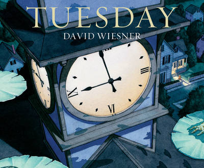Tuesday by David Wiesner, one of my top 5 wordless picture books.
