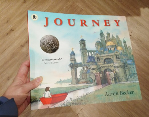 Journey - the first in a trilogy of wordless picture books by Aaron Becker.
