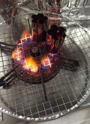 コンロでの着火時間を半分程度に短縮する方法