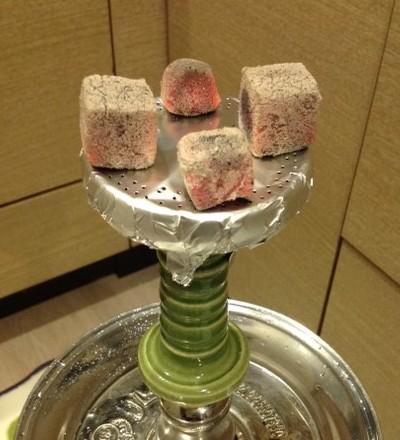 Harmony Hookah Bowl + アルミホイル 火の調節