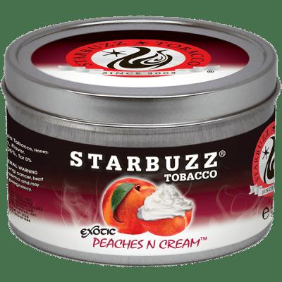 StarBuzz / Peaches and Cream(きめ細かい吸い心地のピーチ)