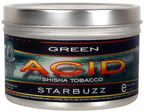 StarBuzz Acid / Green(純粋な清涼感、非常にシンプル)