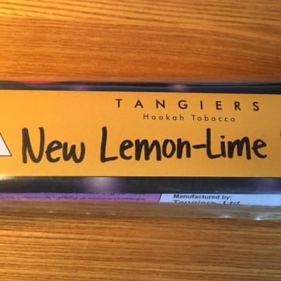 Tangiers Noir / New Lemon-Lime(Lemon系の香りが非常に良い仕事をしている、美味)