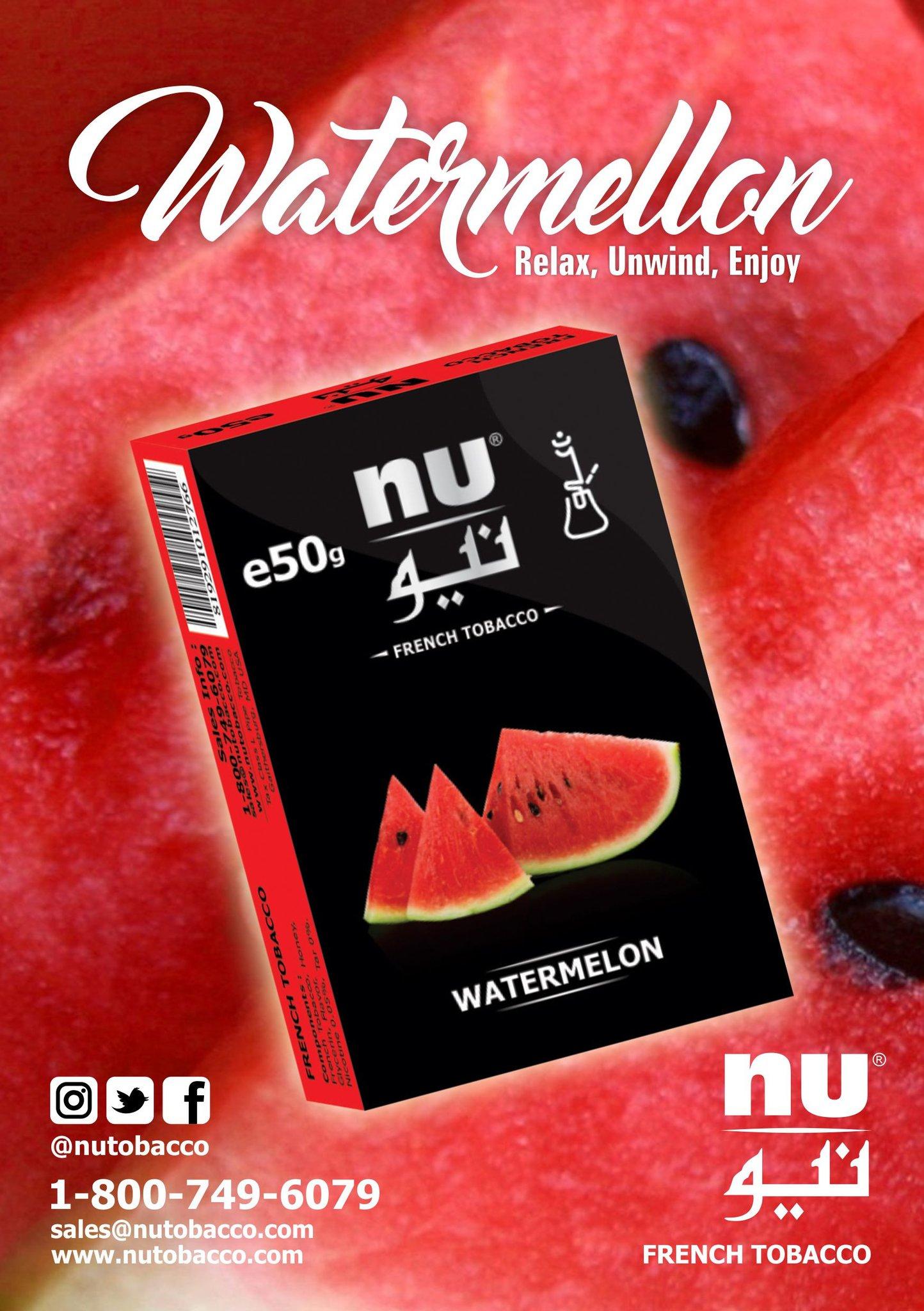 Nu Hookah / Watermelon(良い意味でスカスカした甘さのあるWatermelon系)
