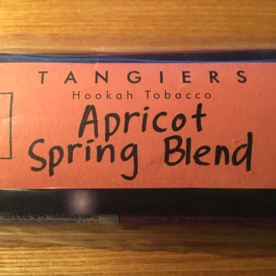 Tangiers Noir / Apricot Spring Blend(Peach系に似た香りとフローラル系の香りのMix)