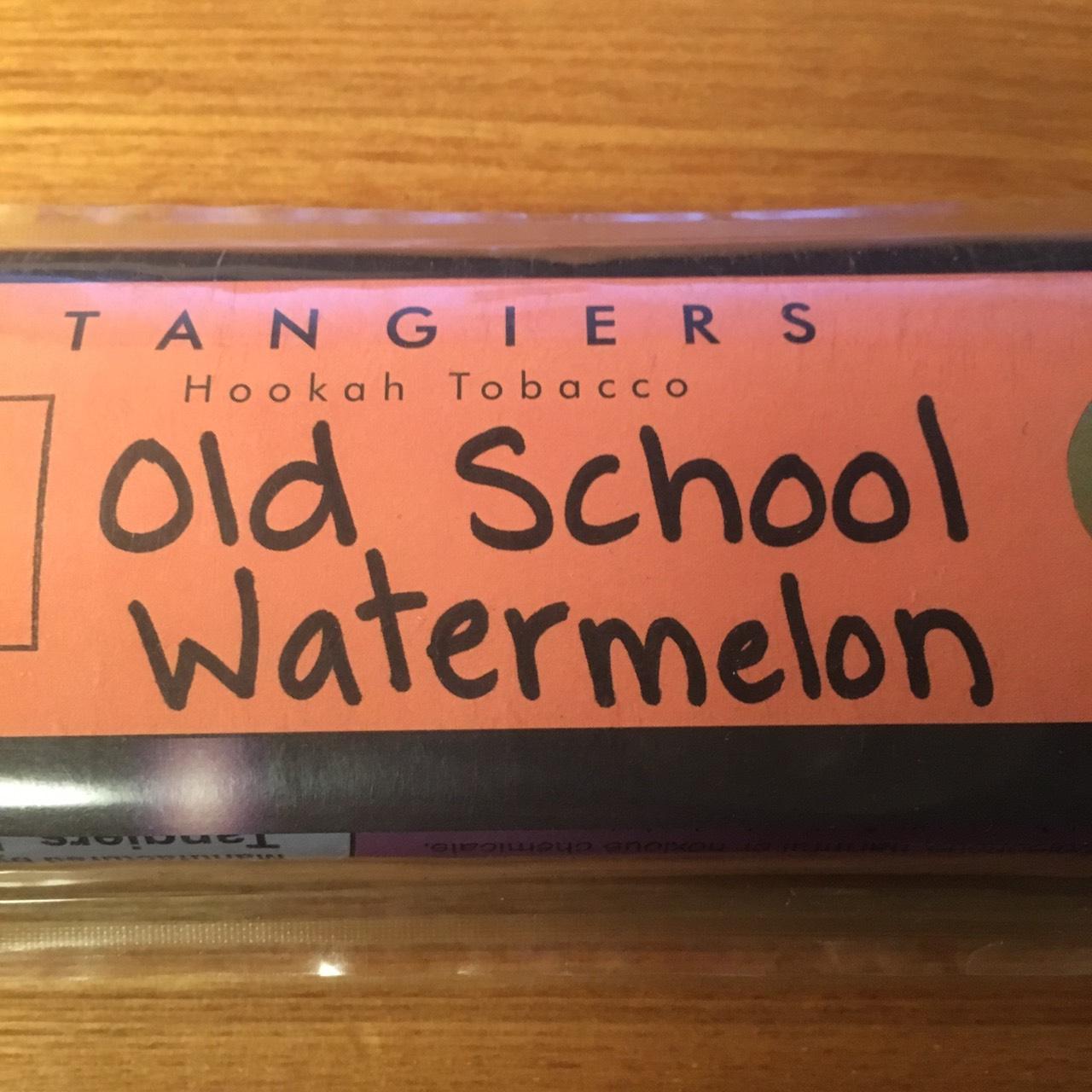 Tangiers Noir / Old School Watermelon(スカスカした甘さのあるクラシックなWatermelon系、やや甘め)