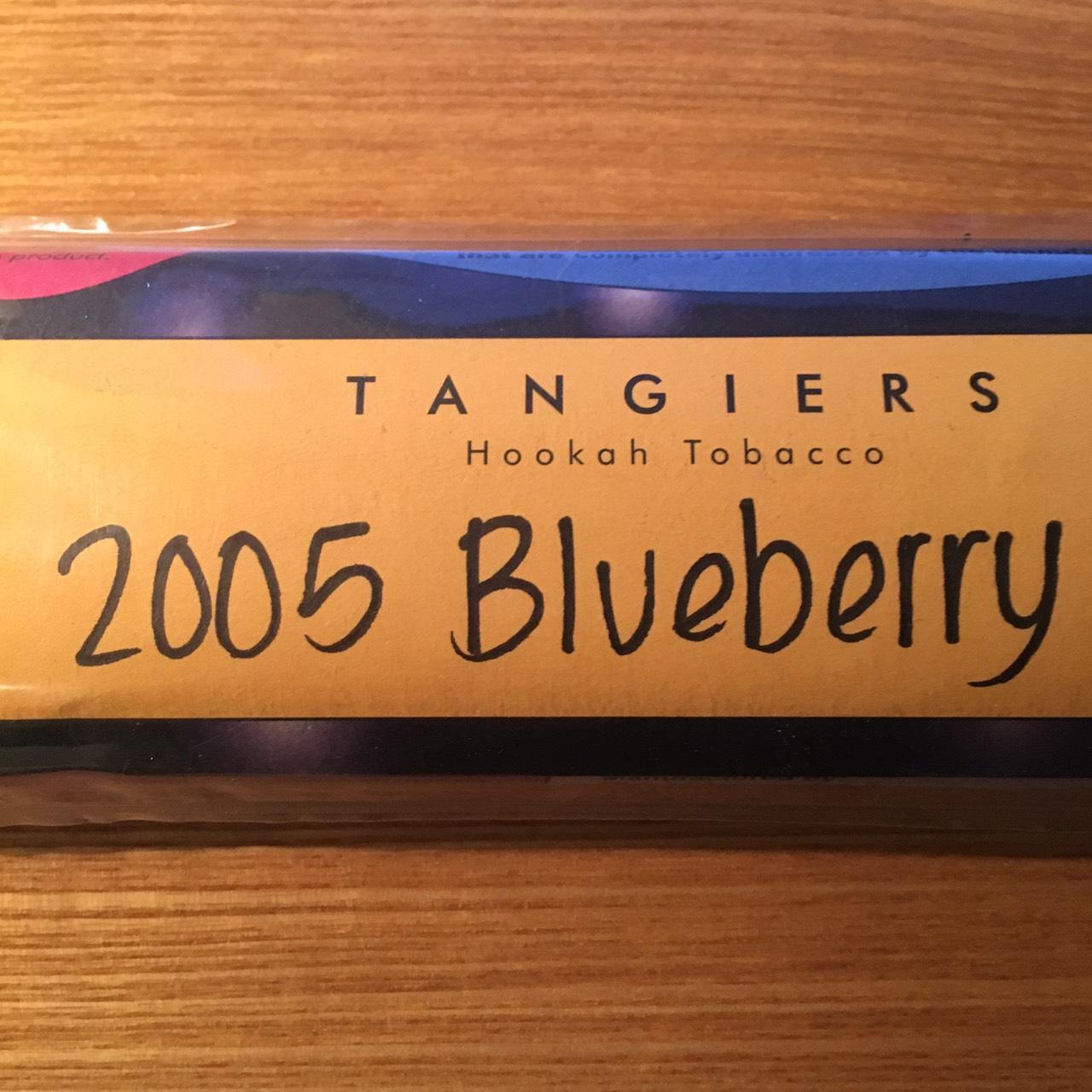 Tangiers Noir / 2005 Blueberry(煙を吐き終えるときに何か華やぎのある香りが少しする、フンワリしたCream系)