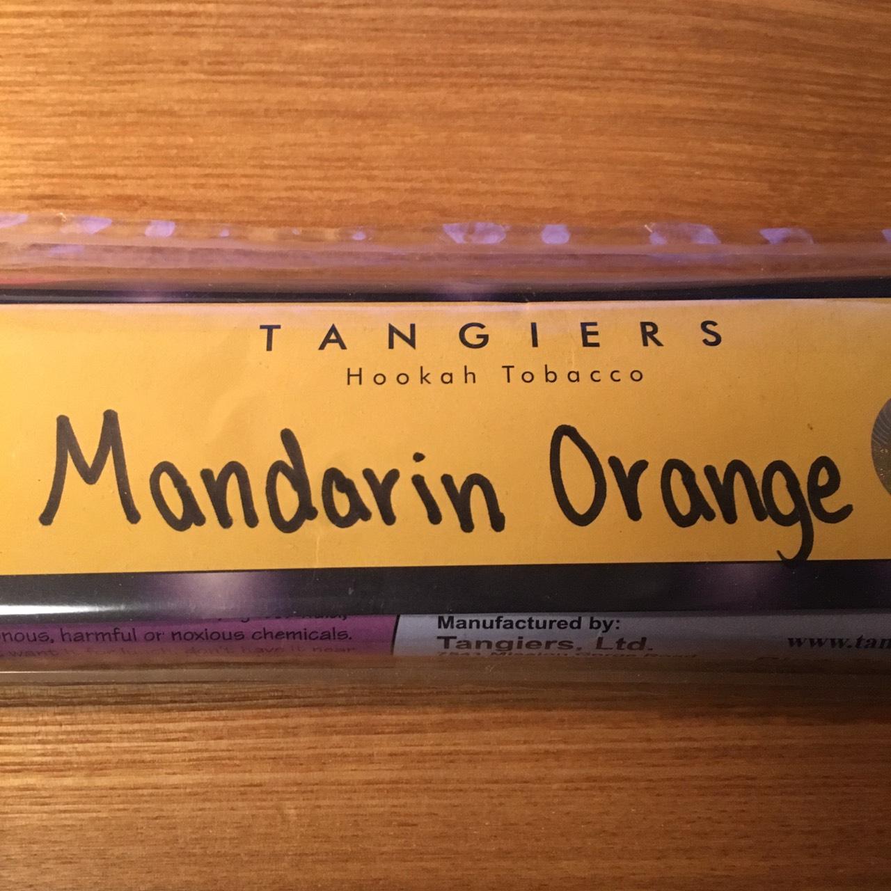 Tangiers Noir / Mandarin Orange(酸味と爽やかな甘い香りのバランスが良く、無難に良く出来たOrange系)