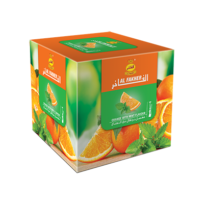 Al Fakher / Orange with Mint(AFのOrange:AFのMint=2:1ぐらいのMix)