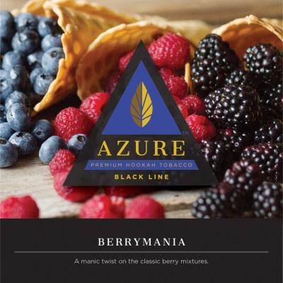 Azure Black / Berrymania(1世代ほど前にあったBlueberry系の優秀な1つの典型をリファイン・リバイバルした香り)