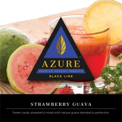 Azure Black / Strawberry Guava(Strawberry系:Guava系=3:1ぐらいのMix、やや青臭さが強め)