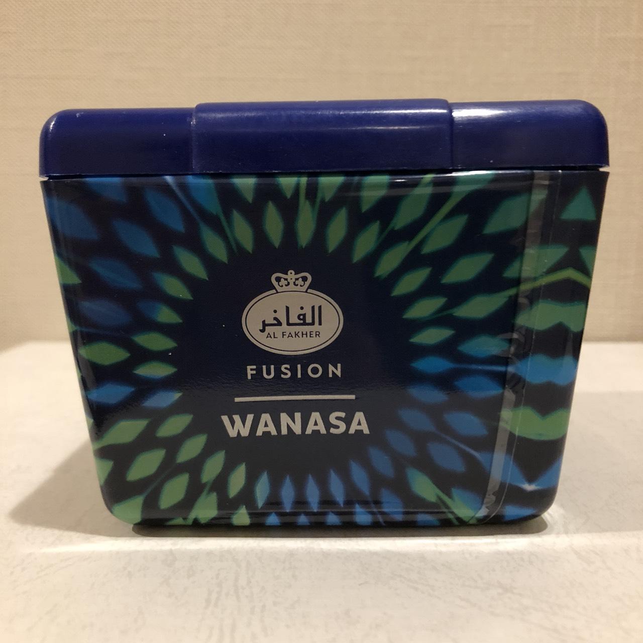 Al Fakher Fusion / Wanasa(今どきっぽいPeach系の香りの背後に、何かマッタリした香ばしさが少々)