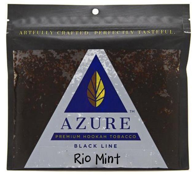 Azure Black / Rio Mint(AFのMintから後味の微かな渋みやグリーンな香りを抜いて、少し清涼感を強くした感じ)