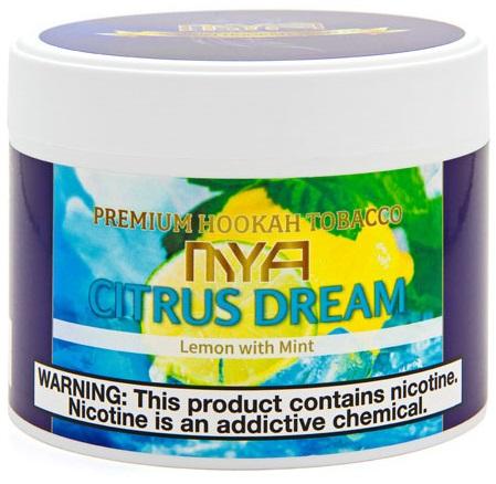 MYA / Citrus Dream(全体に薄味で、どことなく淡さのある非常にアッサリしたレモンミント)