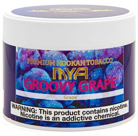 MYA / Groovy Grape(中東の会社にありそうなグレープミントの香りだが、よりサッパリめにまとまっている)
