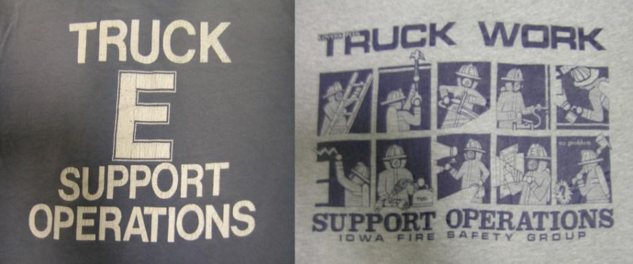 TRUCK E SUPPORT OPS