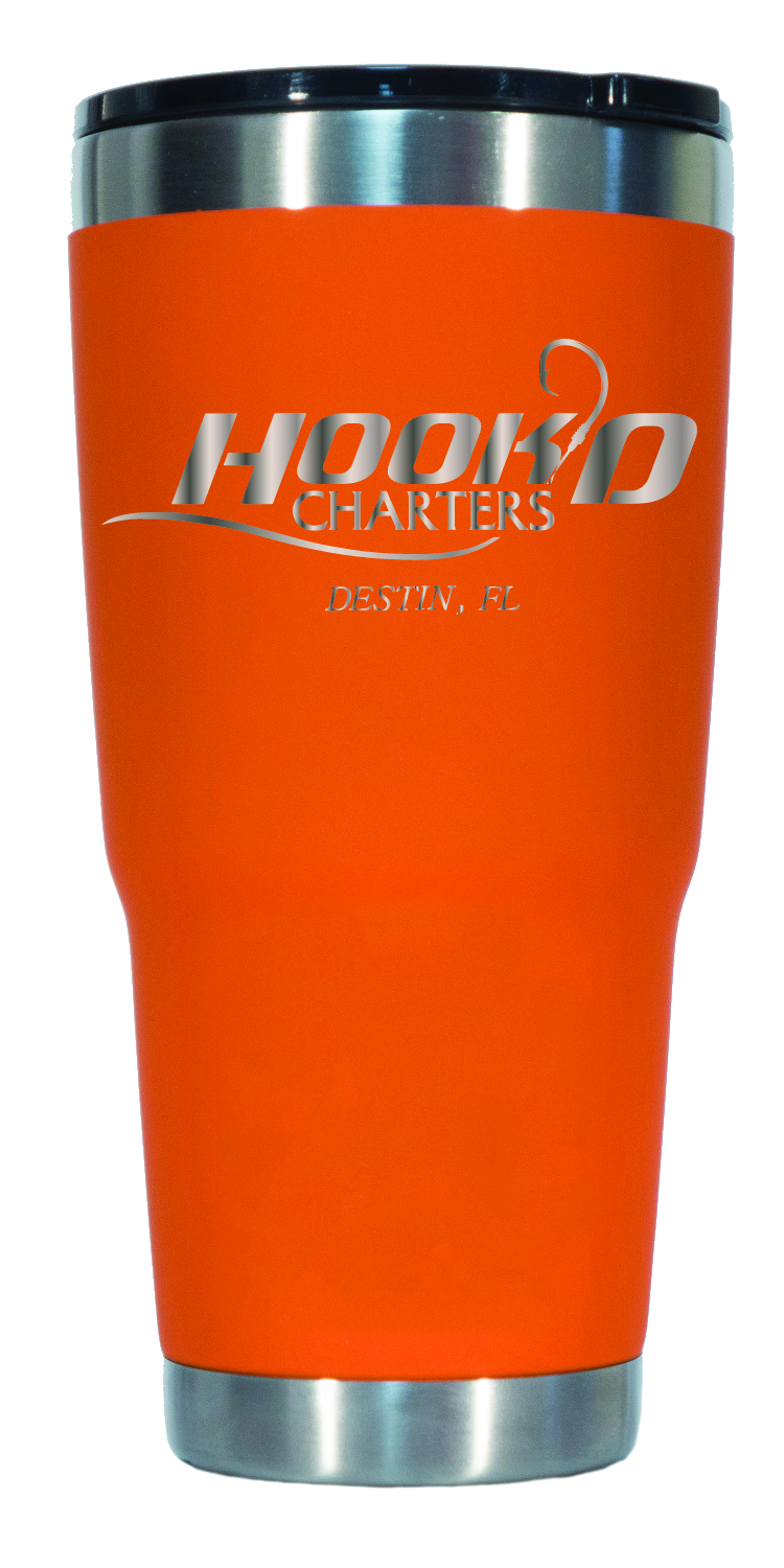 32oz Orange Hook'D Tumbler