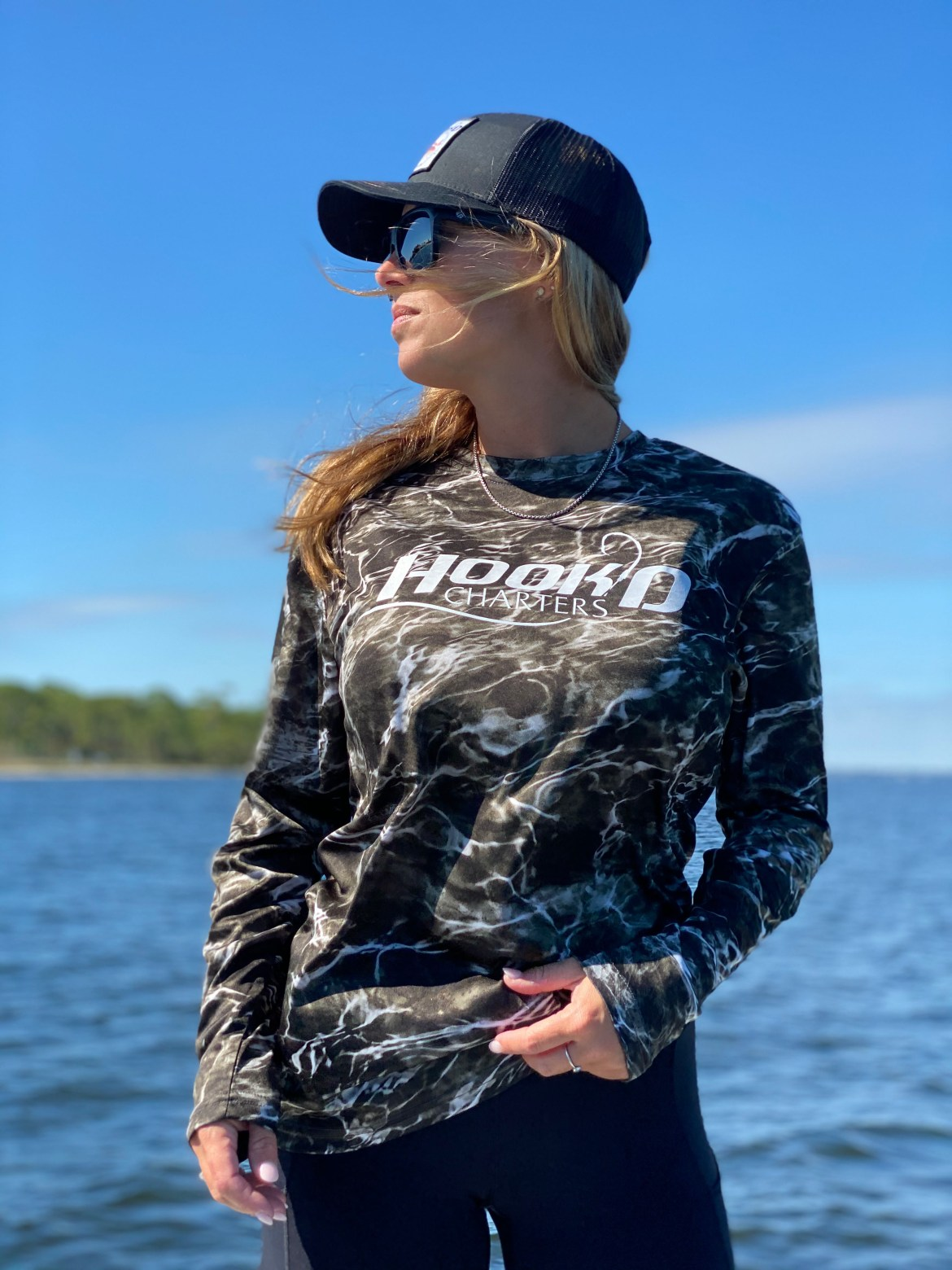 Black Water Camo Performance Shirt