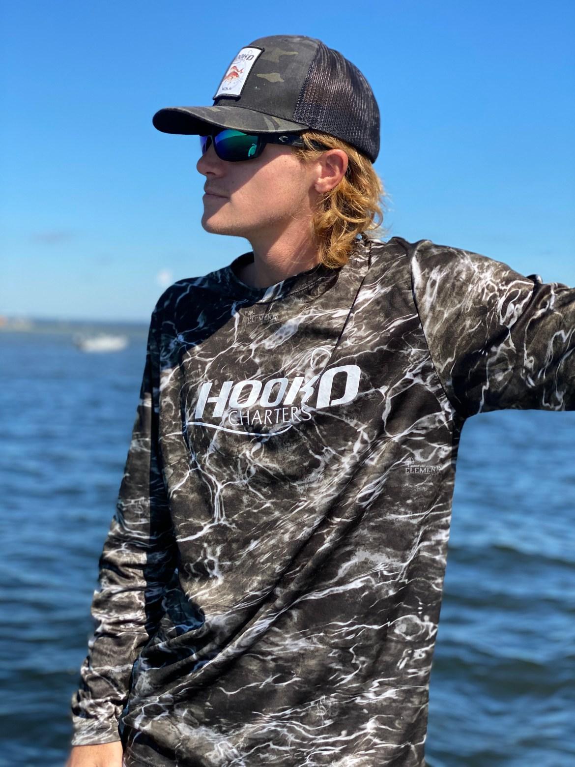 Black Water Camo Performance Shirt