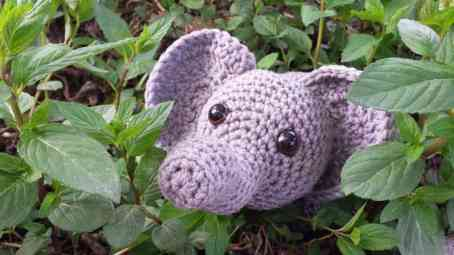 Free Crochet Patterns and Designs by LisaAuch: Crochet Elephant A ... | 255x454