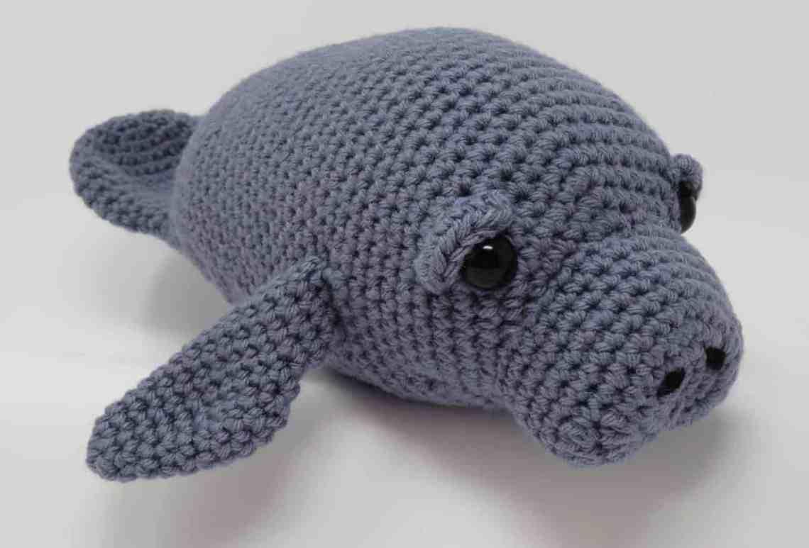 Free Manatee Crochet Pattern | Hooked by Kati
