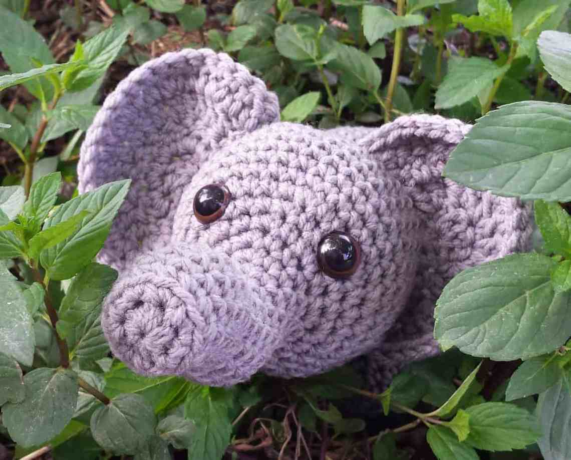 elephant head video tutorial Archives | Hooked by Kati