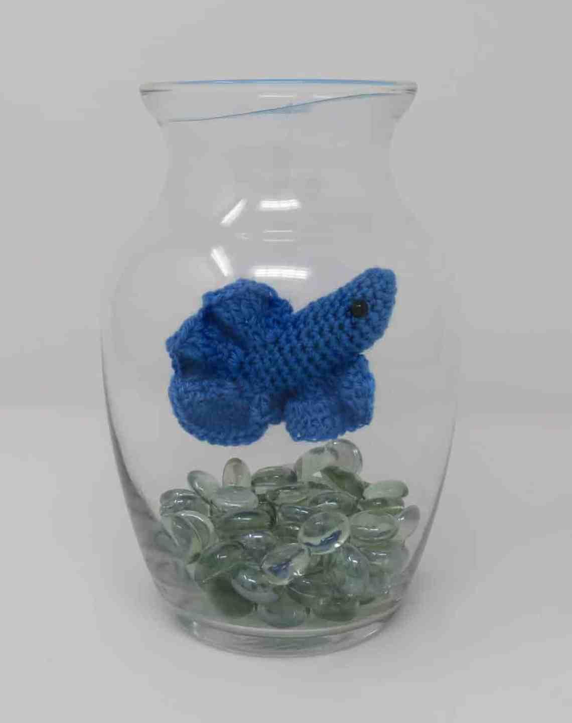 Betta Fish Crochet Pattern | Hooked by Kati