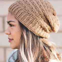 Happily Hooked Magazine Crochet Along Foothills Slouchy Hat