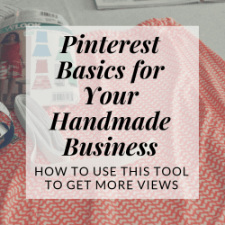 pinterest basics for your handmade etsy business | Hooked by Kati