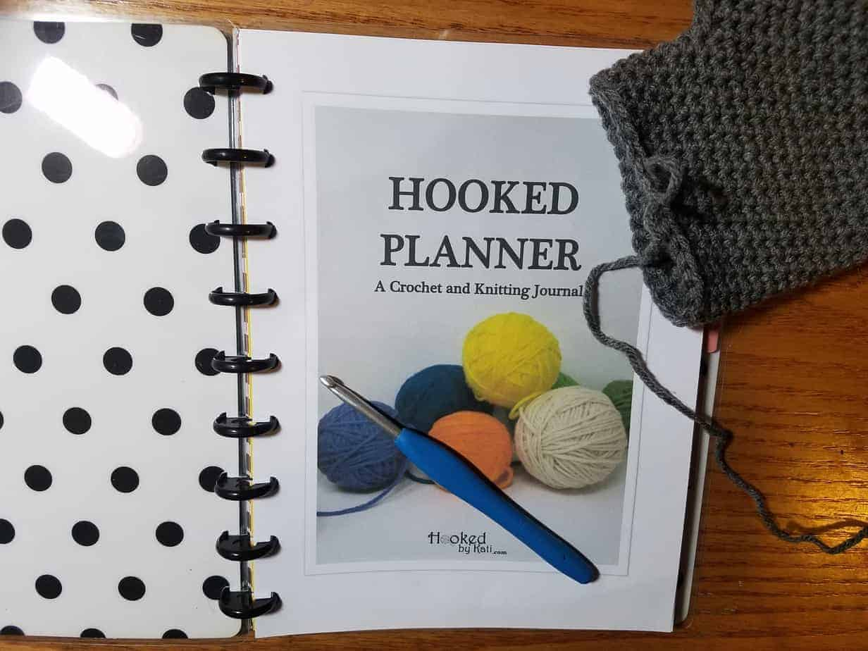 The Hooked Planner Crochet And Knitting Journal Hooked By Kati