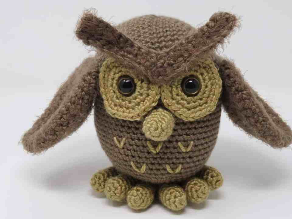 Hygge Owl, a free crochet pattern on Underground Crafter by Hooked by Kati.