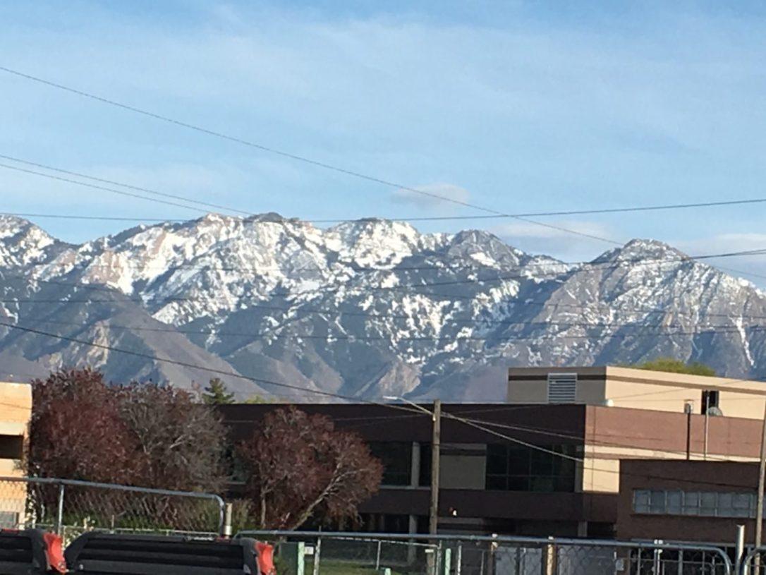 Mountain range, Salt Lake City UT