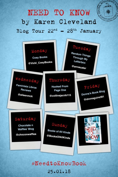Need To Know Blog Tour