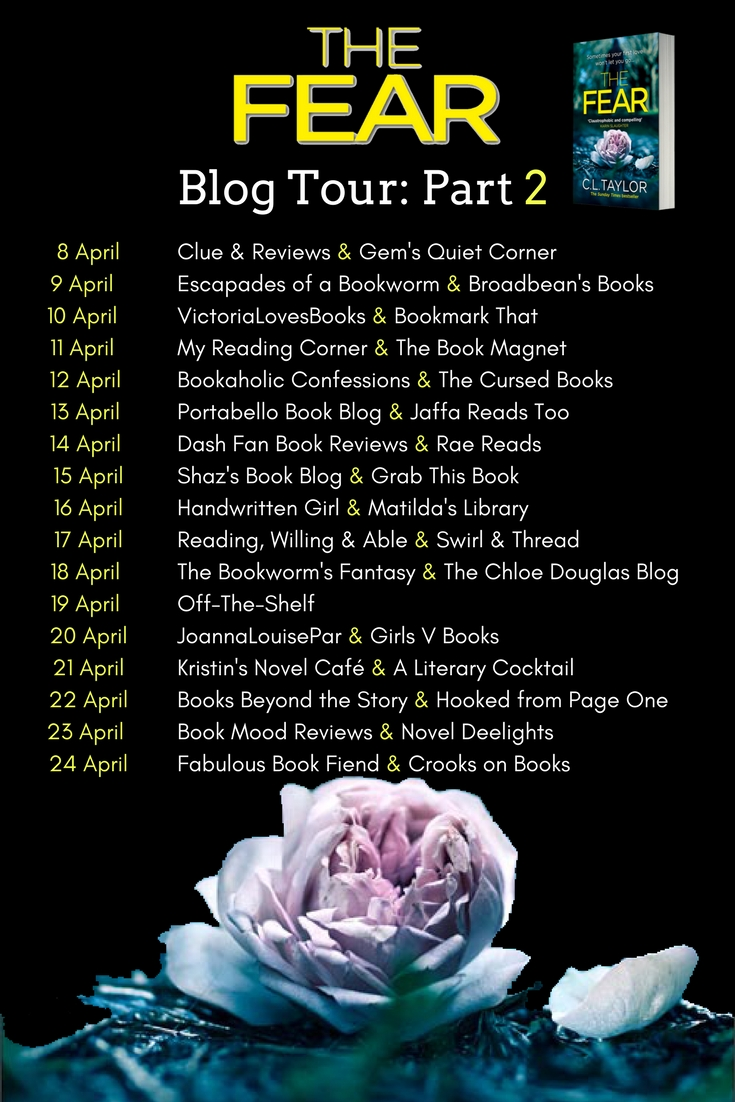 The Fear - Blog Tour Banner - Part 2