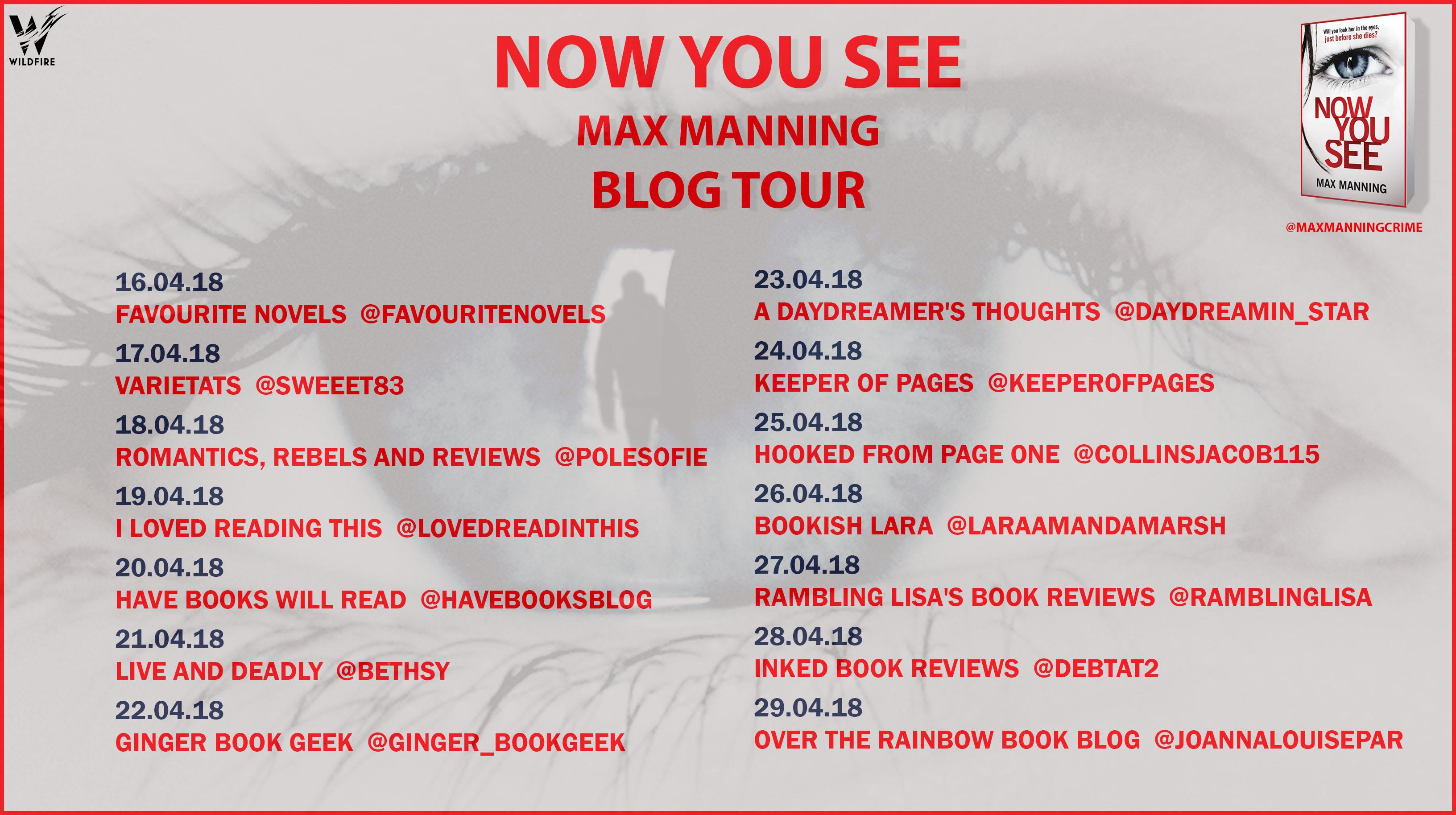 Max manning blog tour