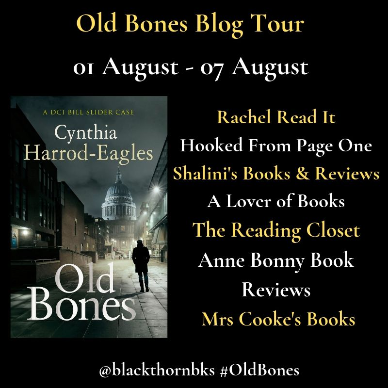 Old Bones Blog Tour Banner