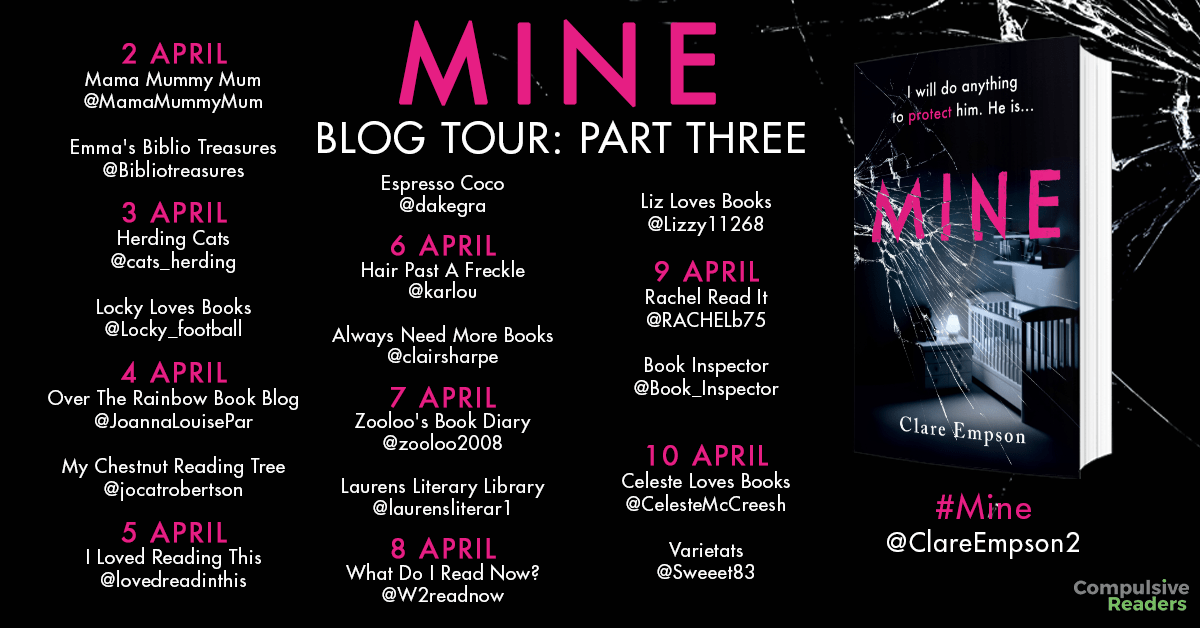 MINE blog tour part three