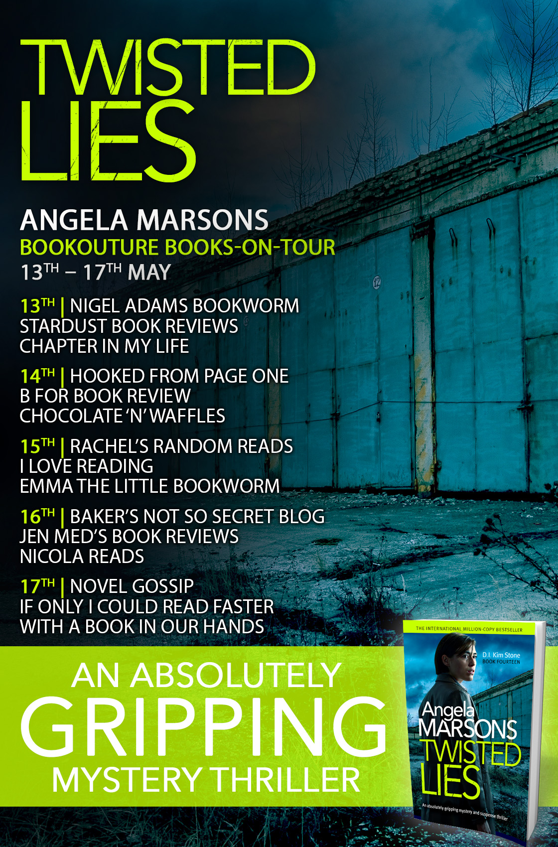 Twisted Lies - Blog Tour
