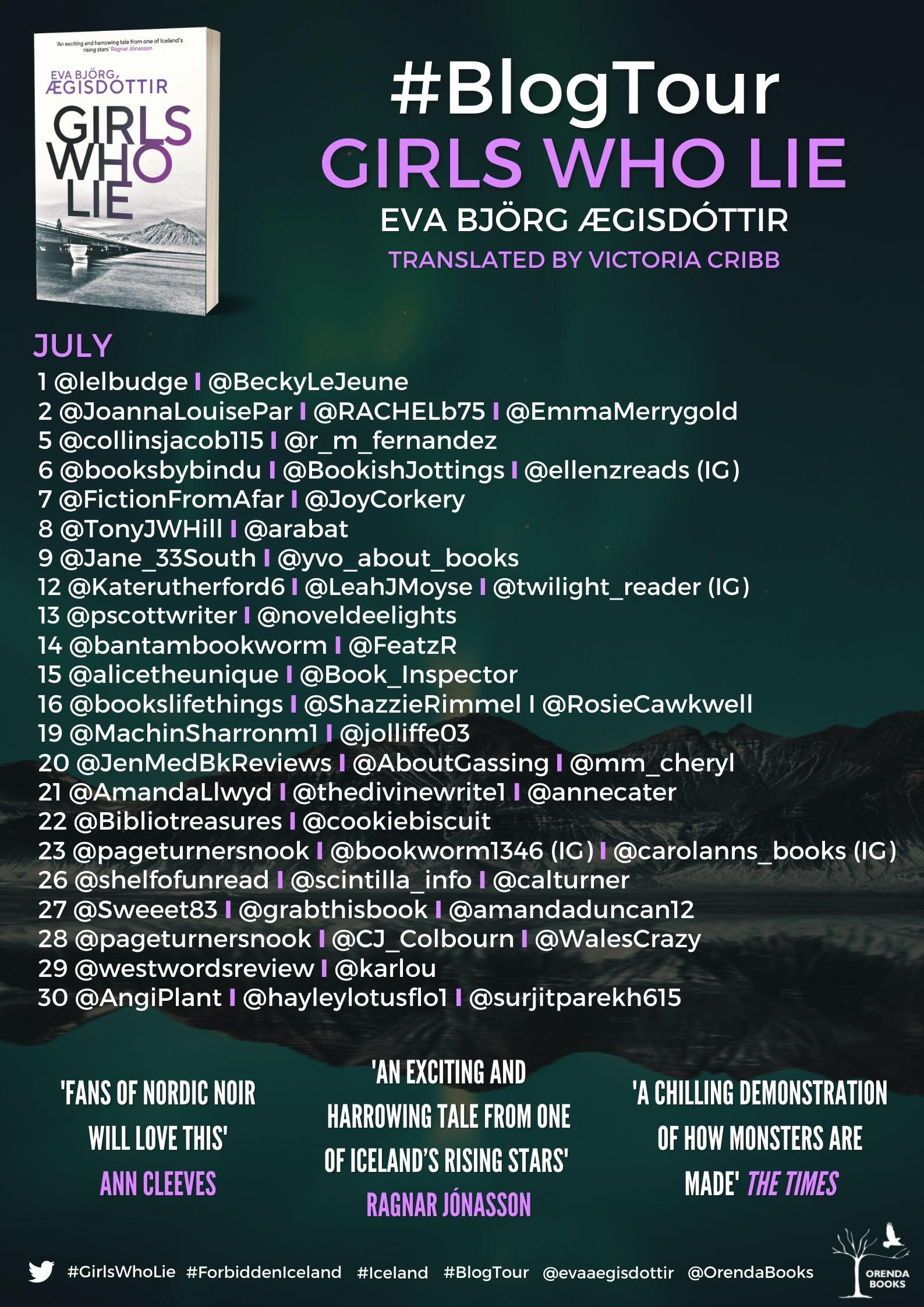 Girls Who Lie BT Poster