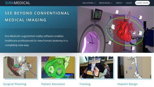 Sira Medical   Website Redesign