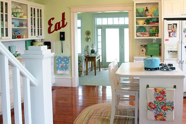Meadowbrook Farm: A New Kitchen With Vintage Appeal