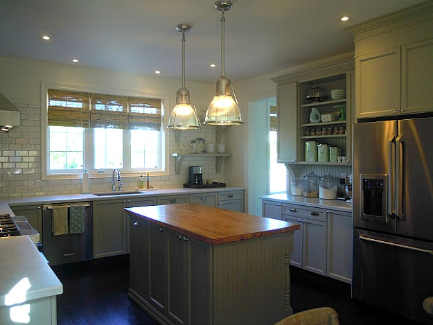 Chris Kauffman Bedford Grey Kitchen Just Beachy Hooked Houses